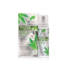 DR. ORGANIC HEMP RESTORING HAIR & SCALP TREATMENT, UTGÅTT