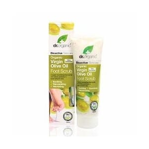 DR. ORGANIC VIRGIN OLIVE OIL FOOT SCRUB 125 ML