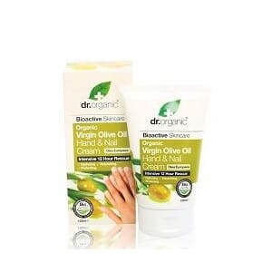 DR. ORGANIC VIRGIN OLIVE OIL HAND & NAIL CREAM 125