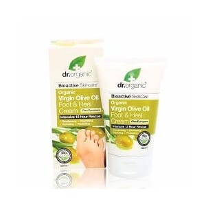 DR. ORGANIC VIRGIN OLIVE OIL FOOT & HEEL CREAM 125