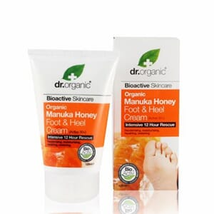 DR. ORGANIC MANUKA FOOT AND HEEL CREAM 125 ML