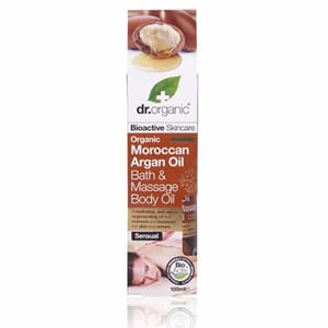 DR. ORGANIC MAROCCAN ARGAN BATH & MASSAGE BODY OIL 100 ML.