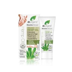 DR. ORGANIC HEMP HAND & NAIL TREATMENT 100 ML