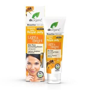 DR. ORGANIC ROYAL JELLY Light & Bright CREAM 125 ML