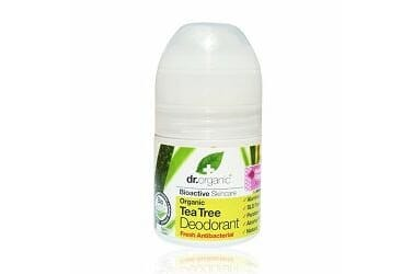 DR. ORGANIC TEA TREE DEO ROLL ON 50 ML