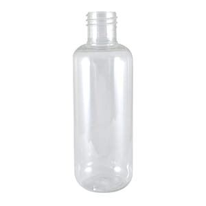 Plastflaske klar 100 ml PET