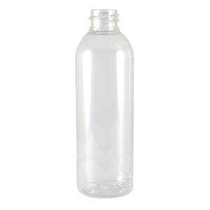 Plastflaske klar  PET 100 ml Tall Boston 20 mm