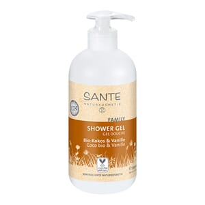 SANTE Coconut & vanilla shower gel 950 ml økologisk