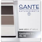 SANTE Eyeshadow trio smokey eyes 06